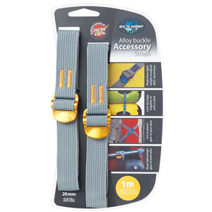 Sea to Summit Tie Down Accessory Strap 20mm 1m yellow yellow