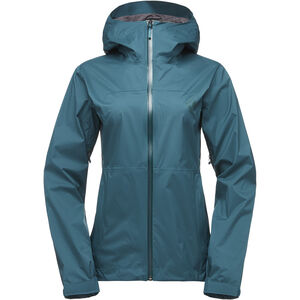 Black Diamond Stormline Stretch Rain Shell Jacket Dam spruce spruce