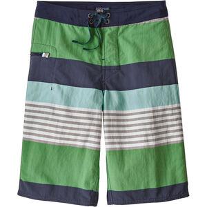 Patagonia Wavefarer Boardshorts Pojkar fitz stripe: succulent green fitz stripe: succulent green