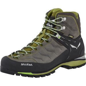 SALEWA Rapace GTX Alpine Shoes Herr pewter/emerald pewter/emerald