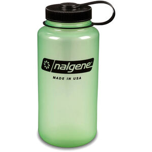 Nalgene Wide Mouth Bottles 1l glow green/black glow green/black