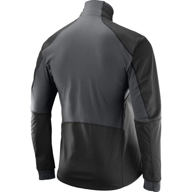 Salomon Equipe TR Jacket Herr black/forged iron