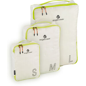 Eagle Creek Pack-It Specter Tech Cube Set S/M/L white/strobe white/strobe
