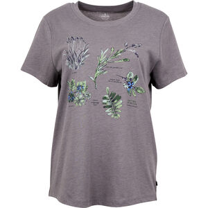 United By Blue Blossom & Berry SS Graphic Tee Dam steel grey steel grey