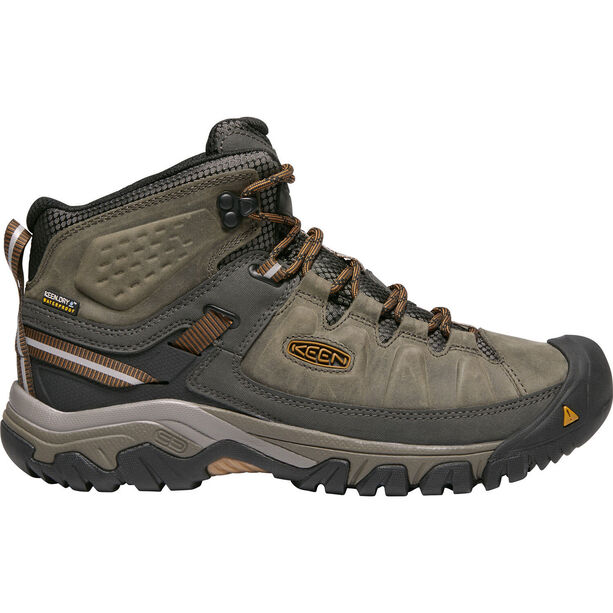 Keen Targhee III Mid WP Shoes Herr black olive/golden brown