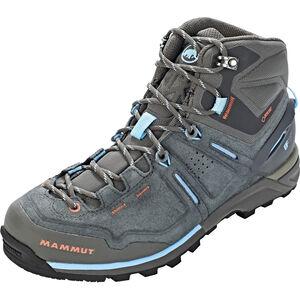 Mammut Alnasca Pro Mid GTX Shoes Dam graphite-whisper graphite-whisper