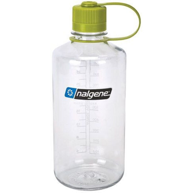Nalgene NarrowMouth Tritan Flask 1000ml clear/green