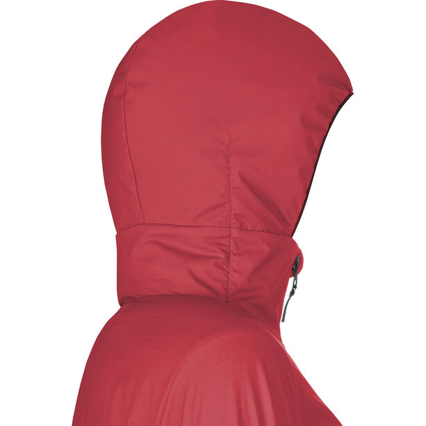 GORE WEAR H5 Women Gore Windstopper Insulated Hooded Jacket Dam hibiscus pink/chestnut red