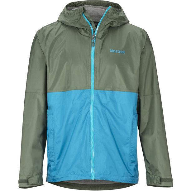 Marmot PreCip Eco Plus Jacket Herr crocodile/turkish tile