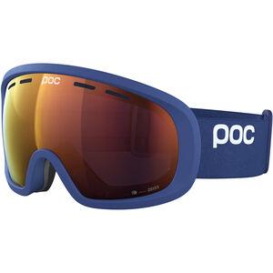 POC Fovea Mid Clarity Goggles lead blue/spektris orange lead blue/spektris orange