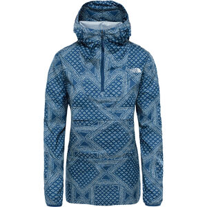 The North Face Fanorak Pullover Dam blue wing teal bandana print blue wing teal bandana print