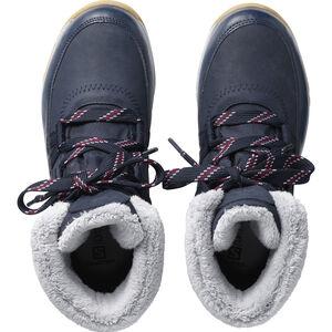 Salomon Heika LTR CS WP Shoes Dam navy blazer/navy blazer/beet red navy blazer/navy blazer/beet red