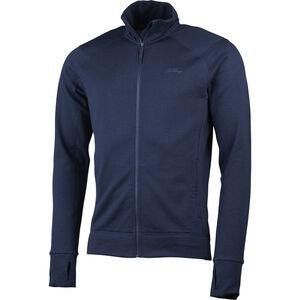 Lundhags Ullto Merino Full Zip Jacket Herr Deep Blue Deep Blue