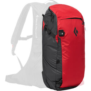 Black Diamond Jetforce Pro Booster Split Pack 35l Red Red