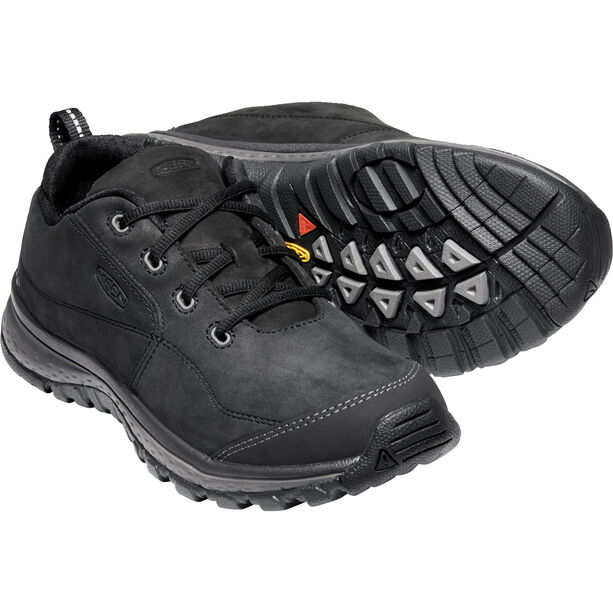 Keen Terradora Leather Sneakers Dam black/raven