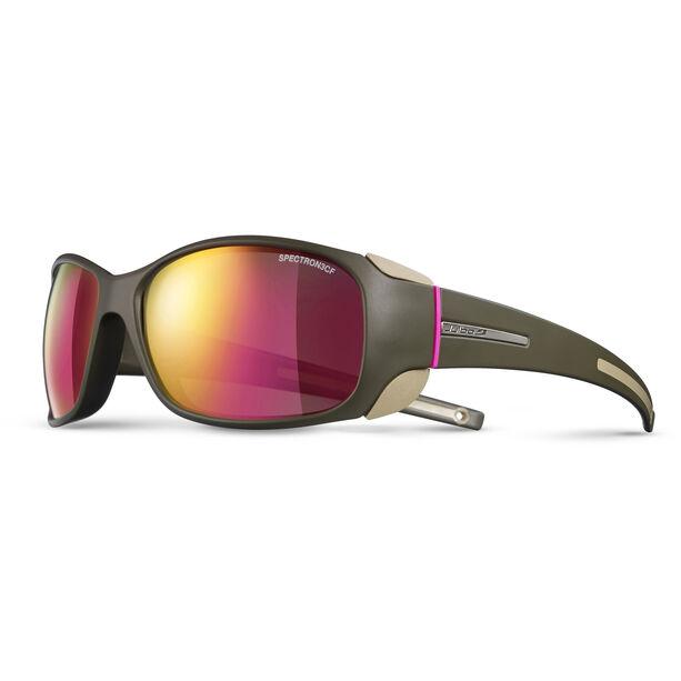 Julbo Monterosa Spectron 3CF Sunglasses Dam army/camel/pink-pink