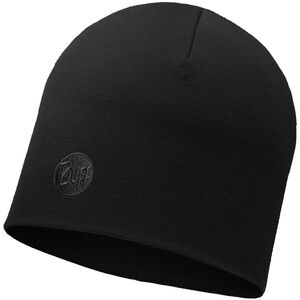 Buff Heavyweight Merino Wool Hat Regular solid black solid black