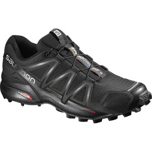 Salomon Speedcross 4 Shoes Herr black/black/black metallic