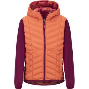 Marmot Featherless Reversible Hoody Flickor nasturtium/purple berry nasturtium/purple berry
