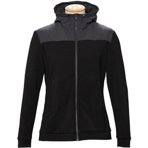 Alchemy Equipment Merino Tecnowool Hybrid Stretch Hoody Herr Black Black