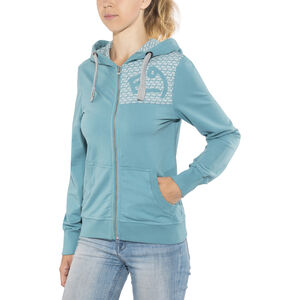 E9 Loop Zipped Hoody Dam dust dust