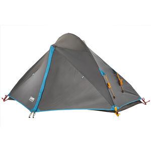 CAMPZ Tignes 1P Tent grey/blue grey/blue
