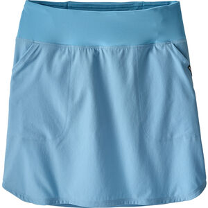 Patagonia Tech Fishing Skort Dam break up blue