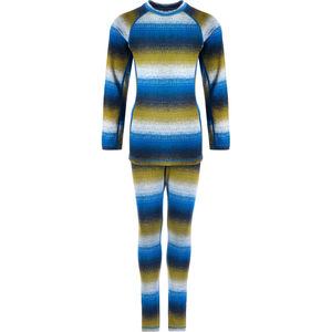 Reima Taival Thermal Baselayer Set Barn Brave Blue Brave Blue