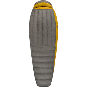 Sea to Summit Spark SpIV Sleeping Bag Long Herr dark grey/yellow dark grey/yellow