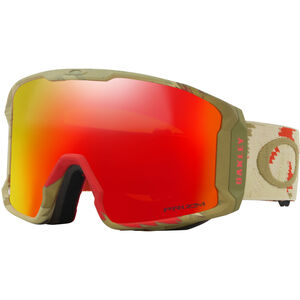 Oakley Line Miner Snow Goggles Herr razor camo red/prizm torch iridium razor camo red/prizm torch iridium