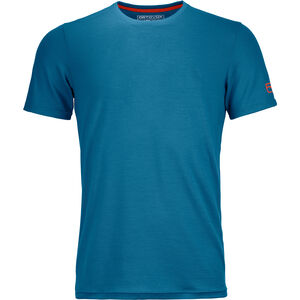 Ortovox 150 Cool Clean T-shirt Herr blue sea blue sea