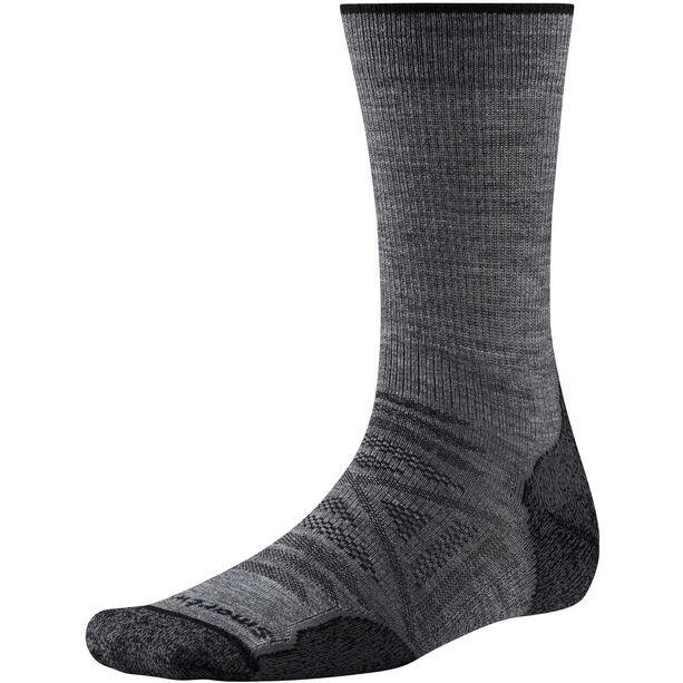 Smartwool PhD Outdoor Light Crew Socks Herr med grey