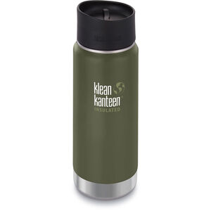 Klean Kanteen Wide Vacuum Insulated Bottle Café Cap 2.0 473ml fresh pine matt fresh pine matt