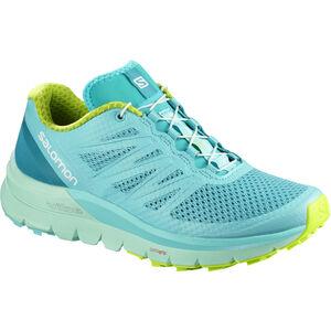 Salomon Sense Pro Max Shoes Dam blue curacao/beach glass/acid lime blue curacao/beach glass/acid lime