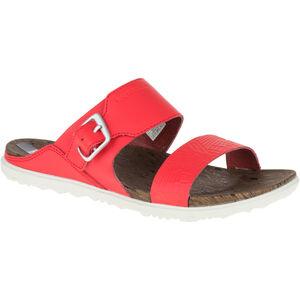 Merrell Around Town Buckle Slide Print Sandals Dam fiery red fiery red
