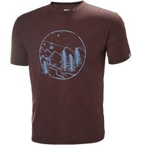 Helly Hansen Skog Graphic T-Shirt Herr andorra andorra