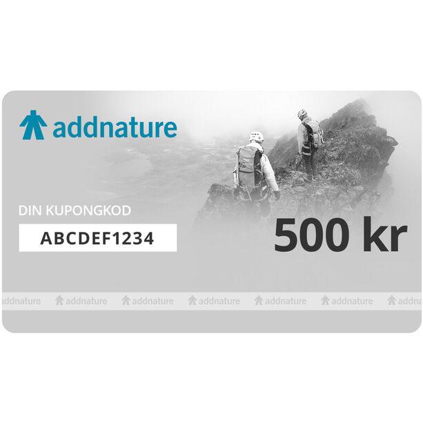 addnature Presentkort 500 kr