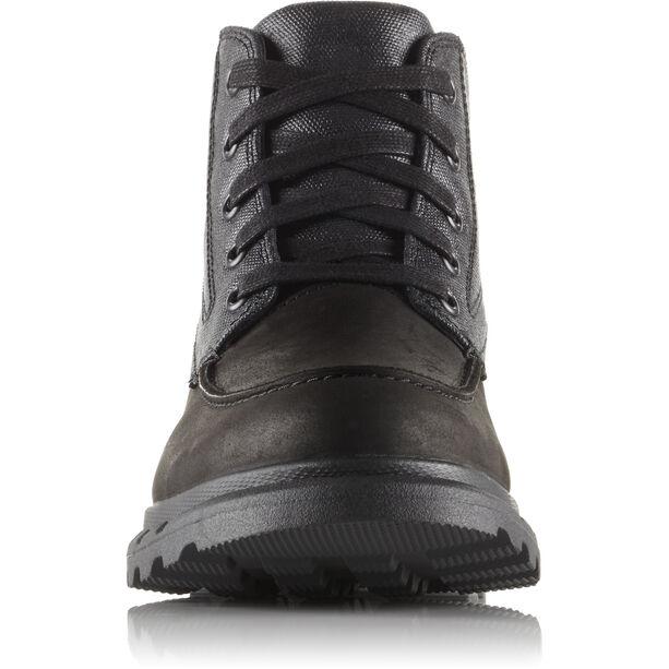 Sorel Portzman Moc Toe Shoes Herr black/quarry
