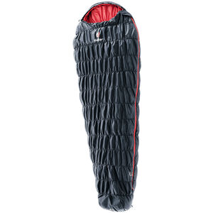 Deuter Exosphere +2° L Sleeping Bag black/fire black/fire