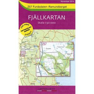 Lantmäteriet Z57 Funäsdalen-Ramundberget 1:50 000