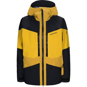 Peak Performance Gravity Jacket Herr Yellow Flow Yellow Flow