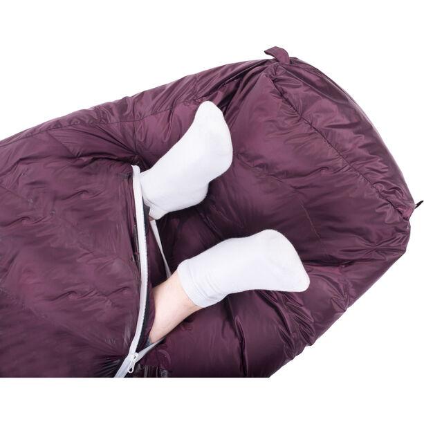Grüezi-Bag Biopod DownWool Subzero Sleeping Bag berry