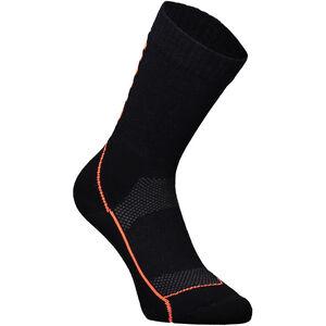 "Mons Royale MTB 9"" Tech Socks Dam Black/Neon Black/Neon"