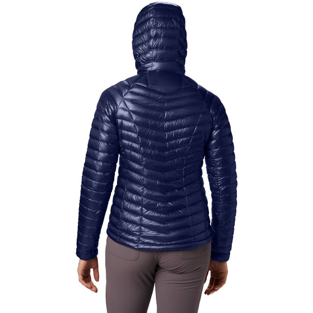 Mountain Hardwear Ghost Whisperer Hooded Down Jacket Dam dark illusion
