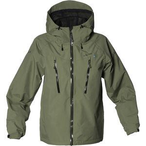 Isbjörn Monsune Hard Shell Jacket Ungdomar moss moss