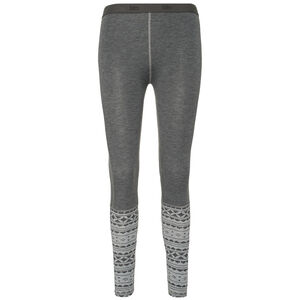 Varg Idre Baselayer Leggings Dam grey mix grey mix