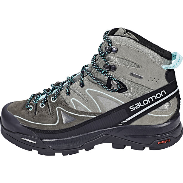 Salomon X Alp Mid LTR GTX Shoes Dam shadow/castor gray/aruba blue