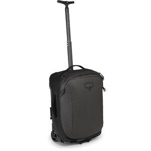 Osprey Rolling Transporter Global Carry-On 33 Travel Pack black black