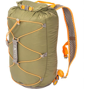 Exped Cloudburst 15 Backpack dark olive dark olive