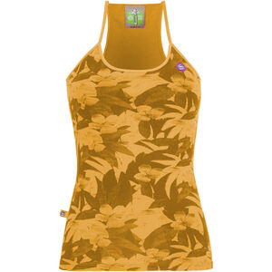 E9 Titti Tank Top Integrated Bra Dam sunflower sunflower